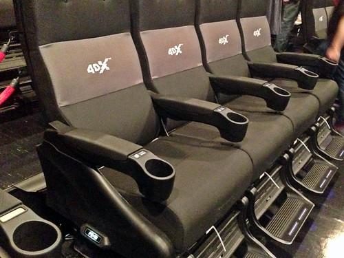Japan 4DX movie experience