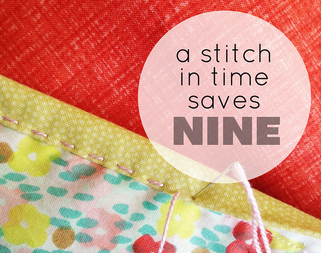 A Stitch in Time...