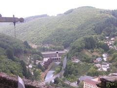Uitzicht vanaf de burcht van Vianden