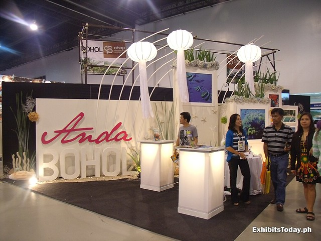 Anda Bohol Exhibit Booth