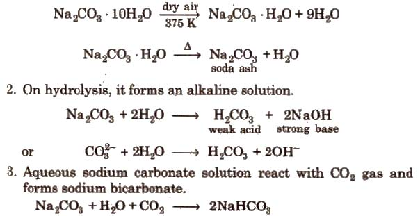 CBSE Class 11 Chemistry Notes : The S-Block Elements – AglaSem Schools