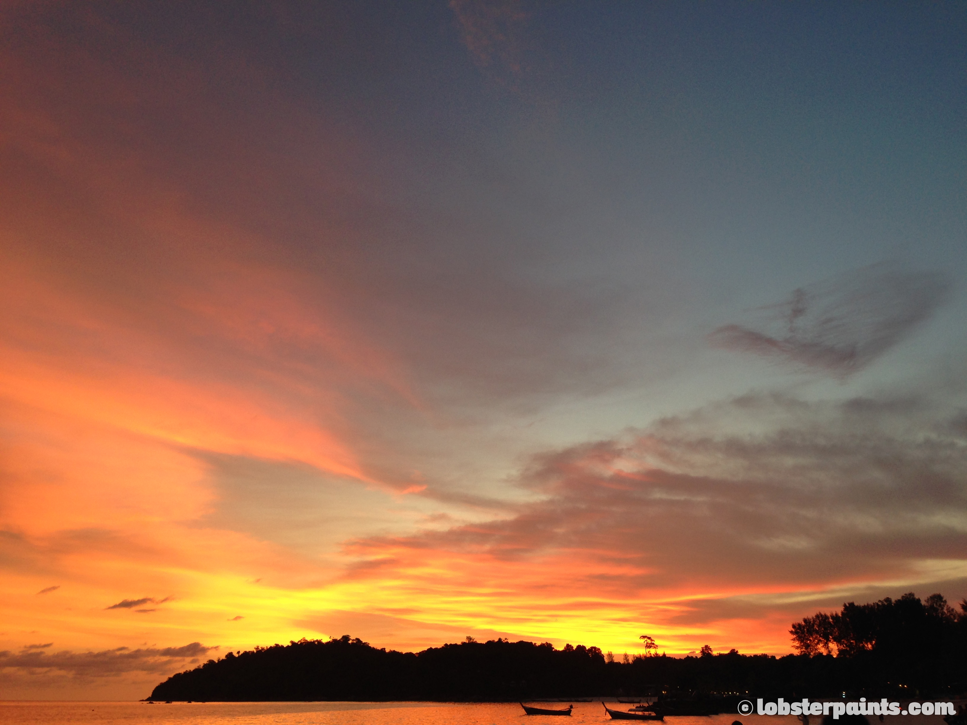 Sunset at Pattaya Beach | Koh Lipe, Thailand