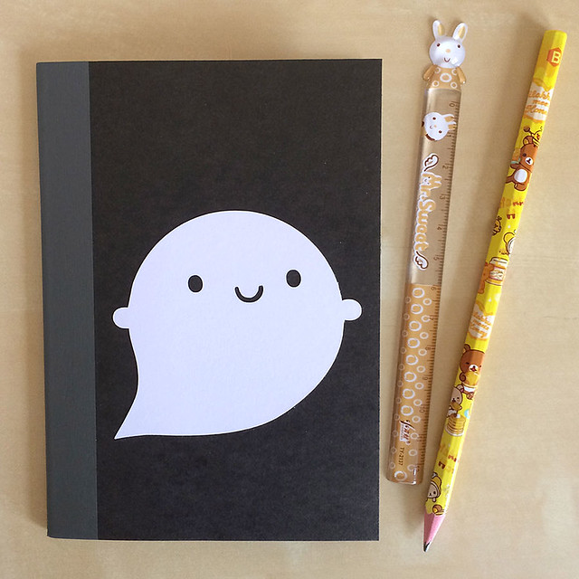 Little Ghost Paper-cut Notebook