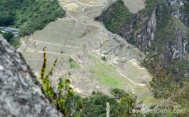 vistas de Machu Picchu desde el Wayna Picchu