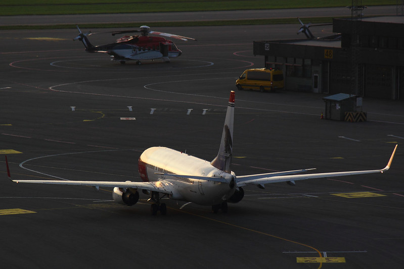 Norwegian - B738 - LN-NO%