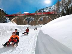 Sáňkařská dráha Preda– Bergun ve Švýcarsku