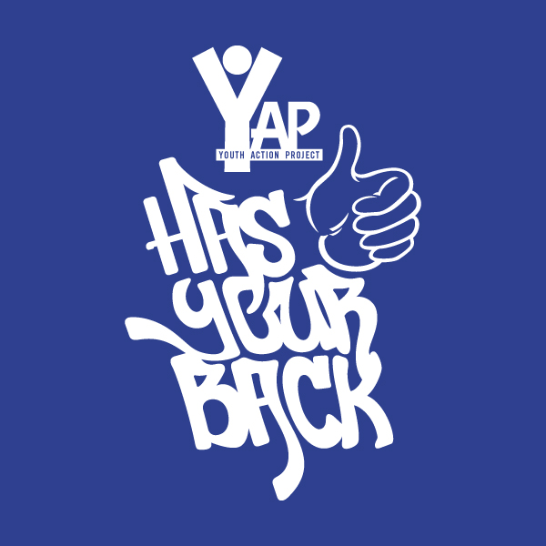 YAP t-shirt design, final artwork