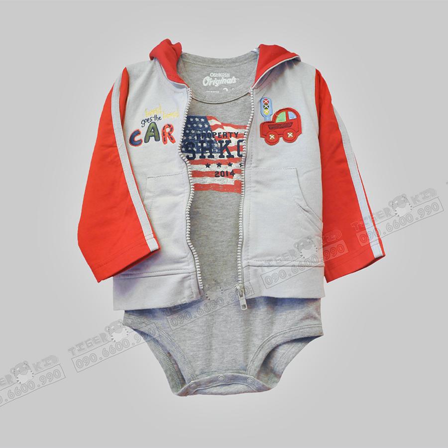 Áo khoác Carter's nhập Thái Lan cho bé trai 12-36 tháng