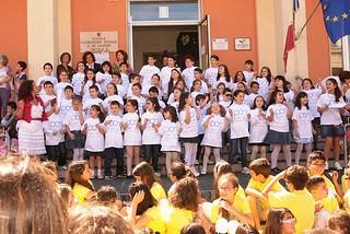 Noicattaro. Inaugurazione scuola De Gasperi 14-15 front