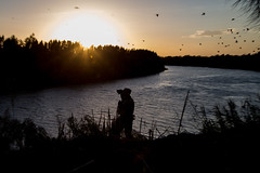 Texas National Guard Observes Rio Grande River
