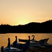 Praia fluvial do Alamal e o sunset