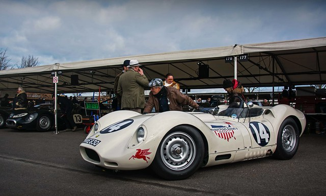 Roberto Giordanelli - 1958 Lister Jaguar Knobbly - 2015 Goodwood 73rd Members' Meeting