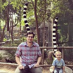 Ricky and Archer grew some tails at San Diego's Safari Park! by bartlewife