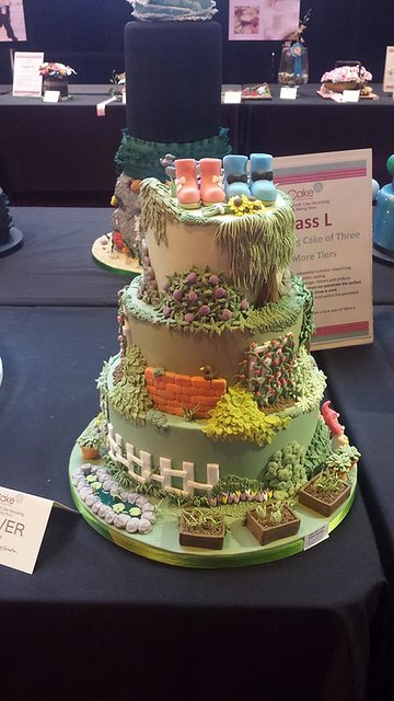 Cake from Rose Macefield Cake Artist School of Sugarcraft