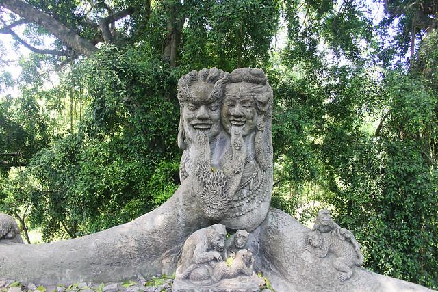 Monkey Forest Statue, Ubud