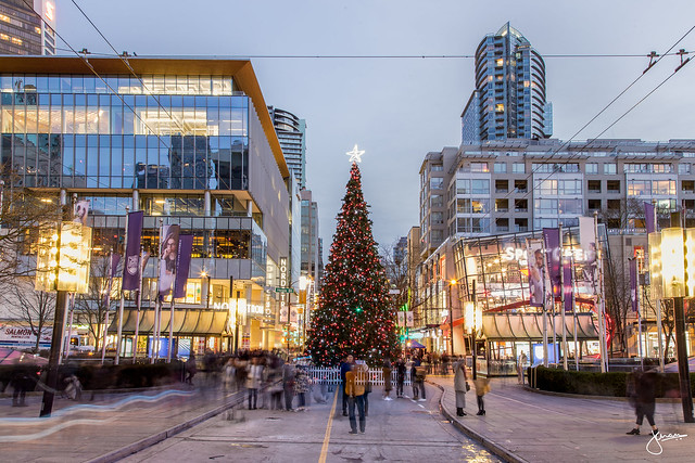 Downtown Vancouver Christmas Tree Lighting » Vancouver ...