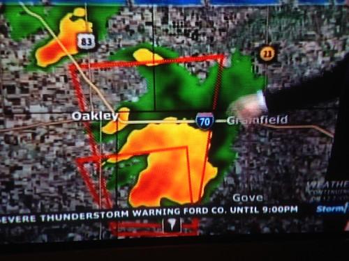 May 2015 Tornado in Gove and Sheridan County, Kansas