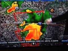 Tornado warning storm stories