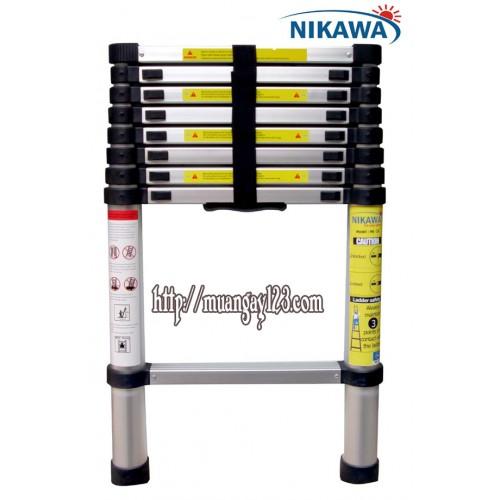 Thang nhôm rút Nikawa NK-26
