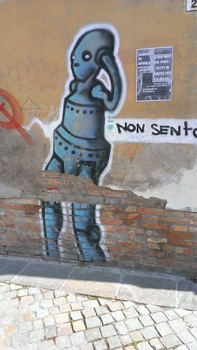 Streetart found in Ravenna