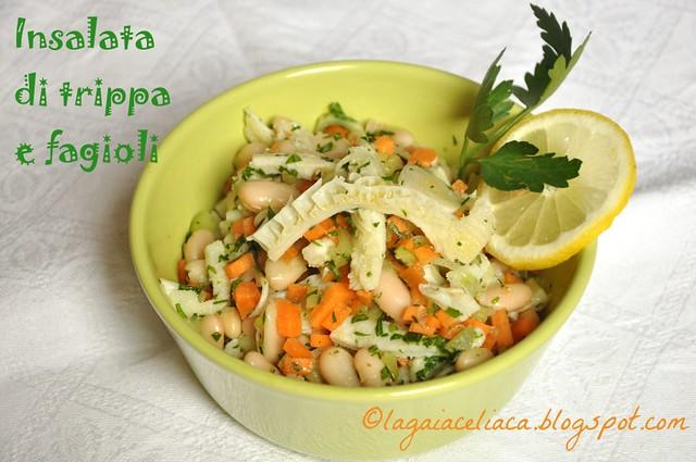 insalata trippa e fagioli