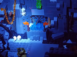 LEGO Chima MOC - Scorpion Palace Ruins 4