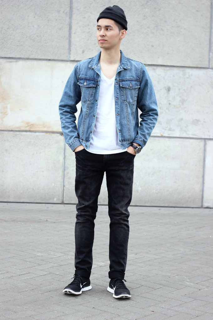 Mens Denim Jacket Style | Outdoor Jacket