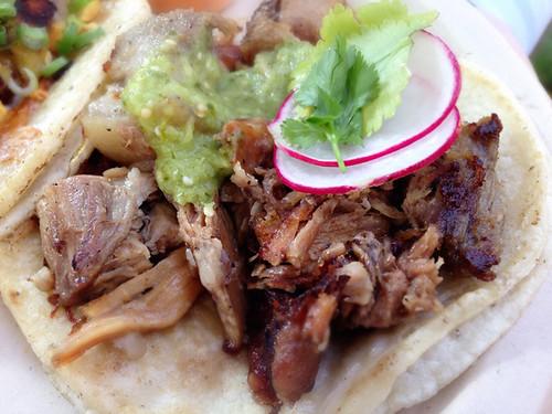 Pork Shoulder Taco, Wes Avila's Guerrilla Tacos
