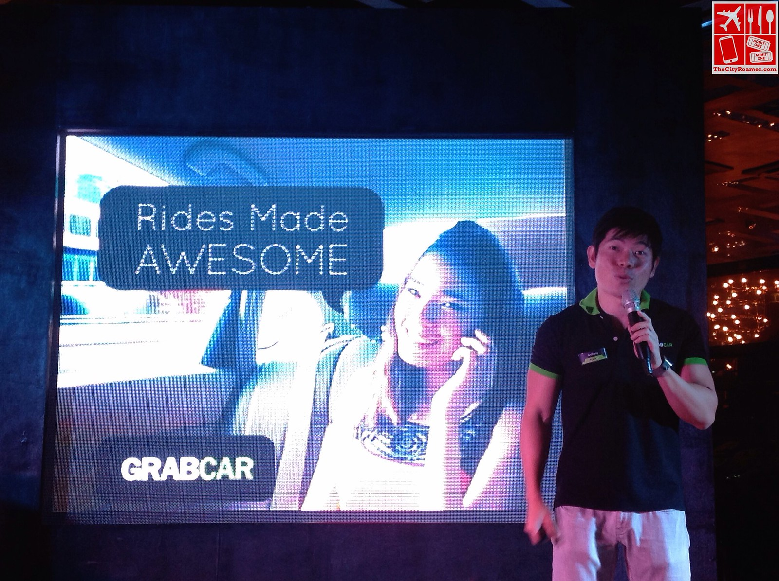 GrabTaxi CEO Anthony Tan discusses GrabCar at the Media Launch