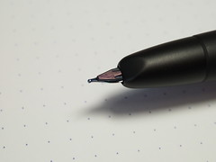 Pilot Capless Fountain Pen Matt Black - Feed
