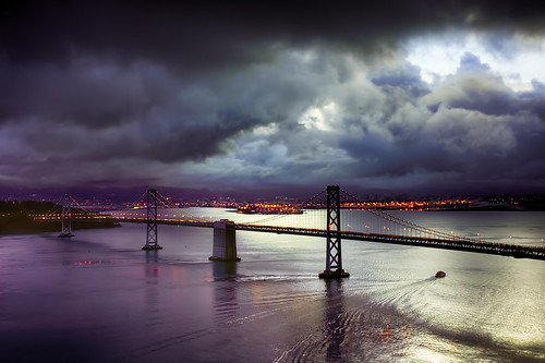 sanfrancisco water clouds landscape sanfranciscobaybridge