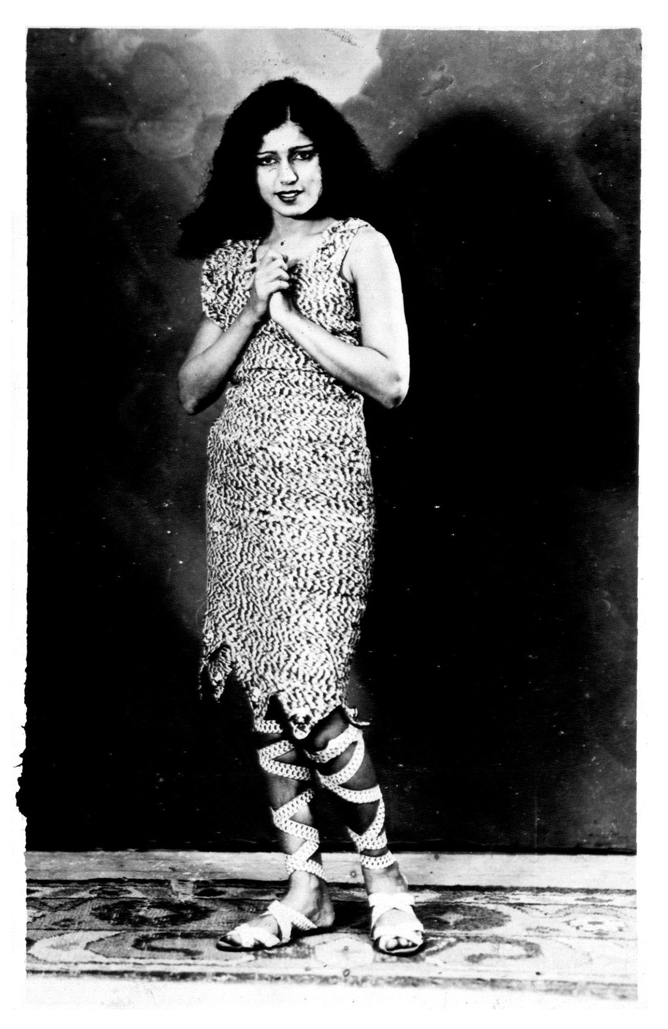 "Zubeida publicity still for 'Alam Ara' (""Jewel of the World"") 1931"