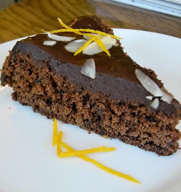 Vegan Chocolate - Orange Torte