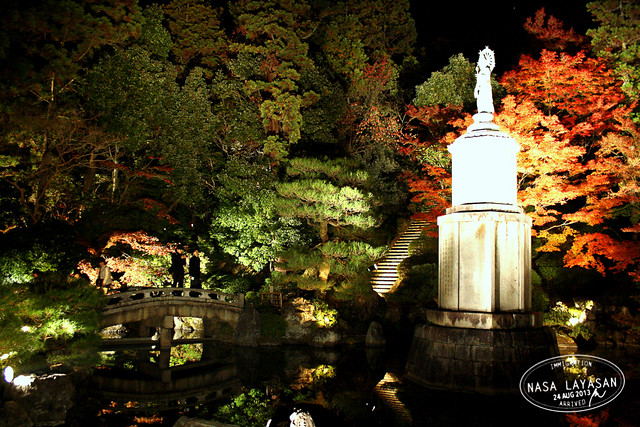 Chion-in night illumination