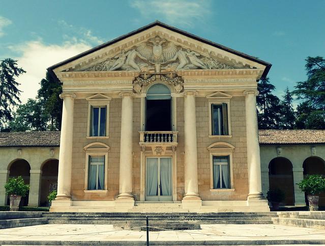 Villa Barbaro fronte