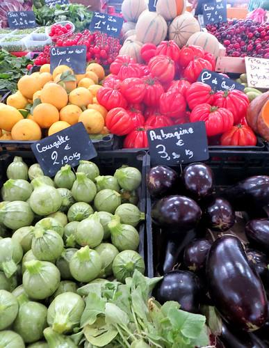 Cannes, France farmers market