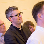 Simon Richardson installed as Vicar of Glencraig