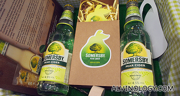 New Somersby Pear cider