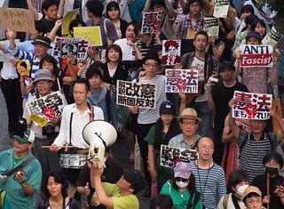 2014.6.22|命と自由をまもる若者憲法デモ@渋谷