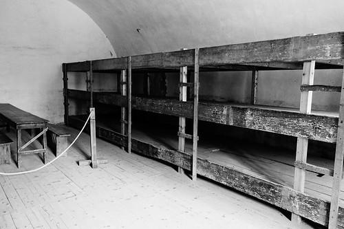 テレジン収容所、部屋