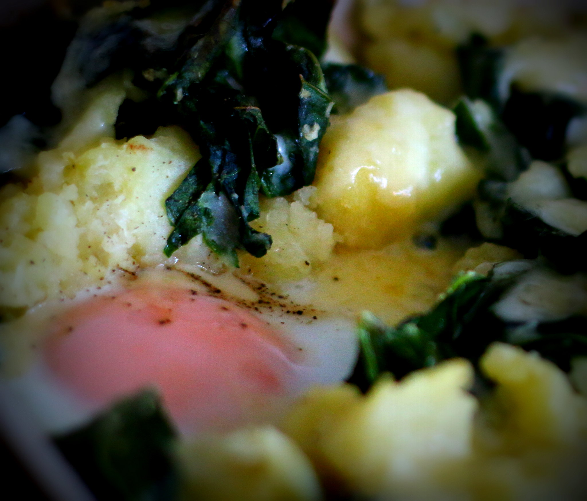 Colcannon close up