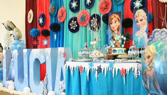 Disney Frozen Party Backdrop