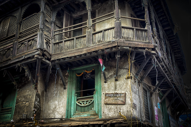 Nepalese Balcony