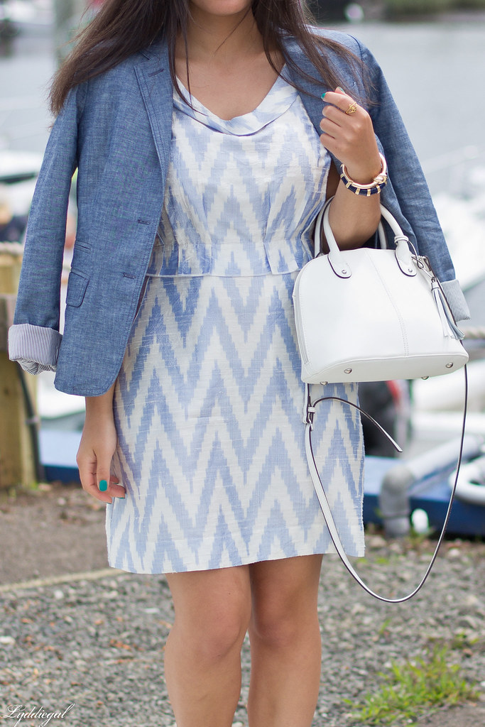 chevron dress, chambray blazer-3.jpg