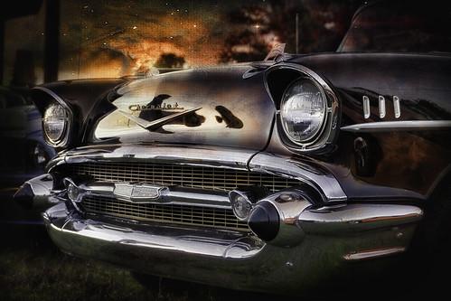 texture chevrolet car vintage classiccar automobile chrome 1957 textureeffects blackchevrolet ruby5 zunikoff