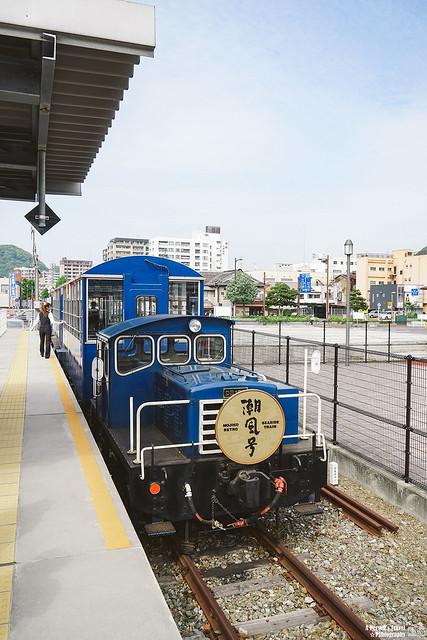門司港懷舊觀光列車 潮風號