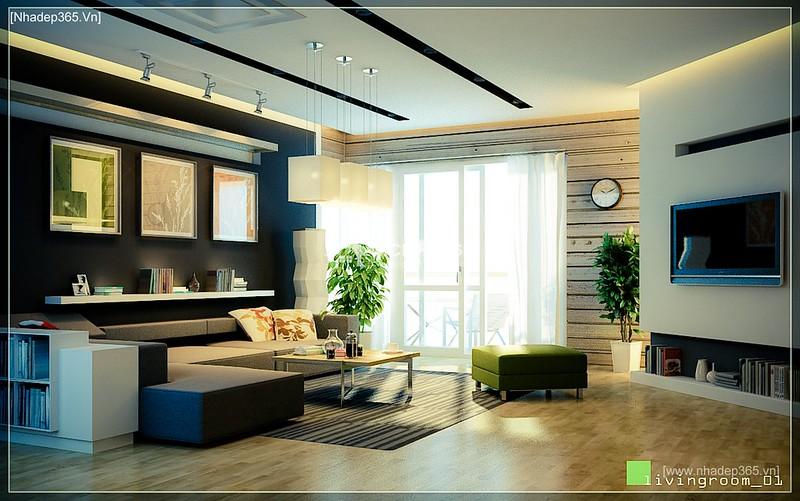 Thiết kế nội thất chung cư M5 - A Chiến_9