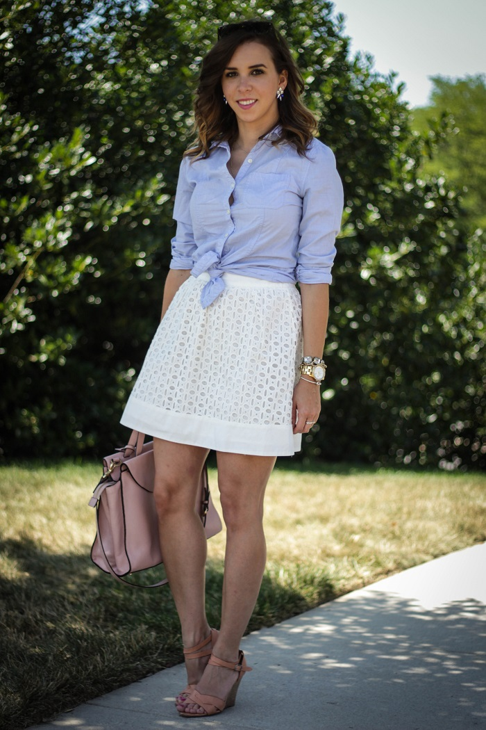 va darling. dc blogger. virginia personal style blogger. eyelet skirt. spring summer style. preppy style. dc fashion. blogger.  2