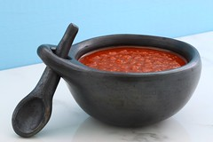 Artisan made red hot sauce