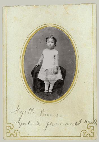 Tintype small girl